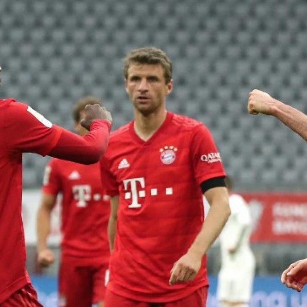 Байерн Мюнхен победи с 5:2 Айнтрахт Франкфурт bet365