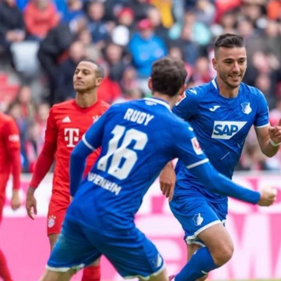 Хофенхайм победи с 4:1 Байерн Мюнхен bet365