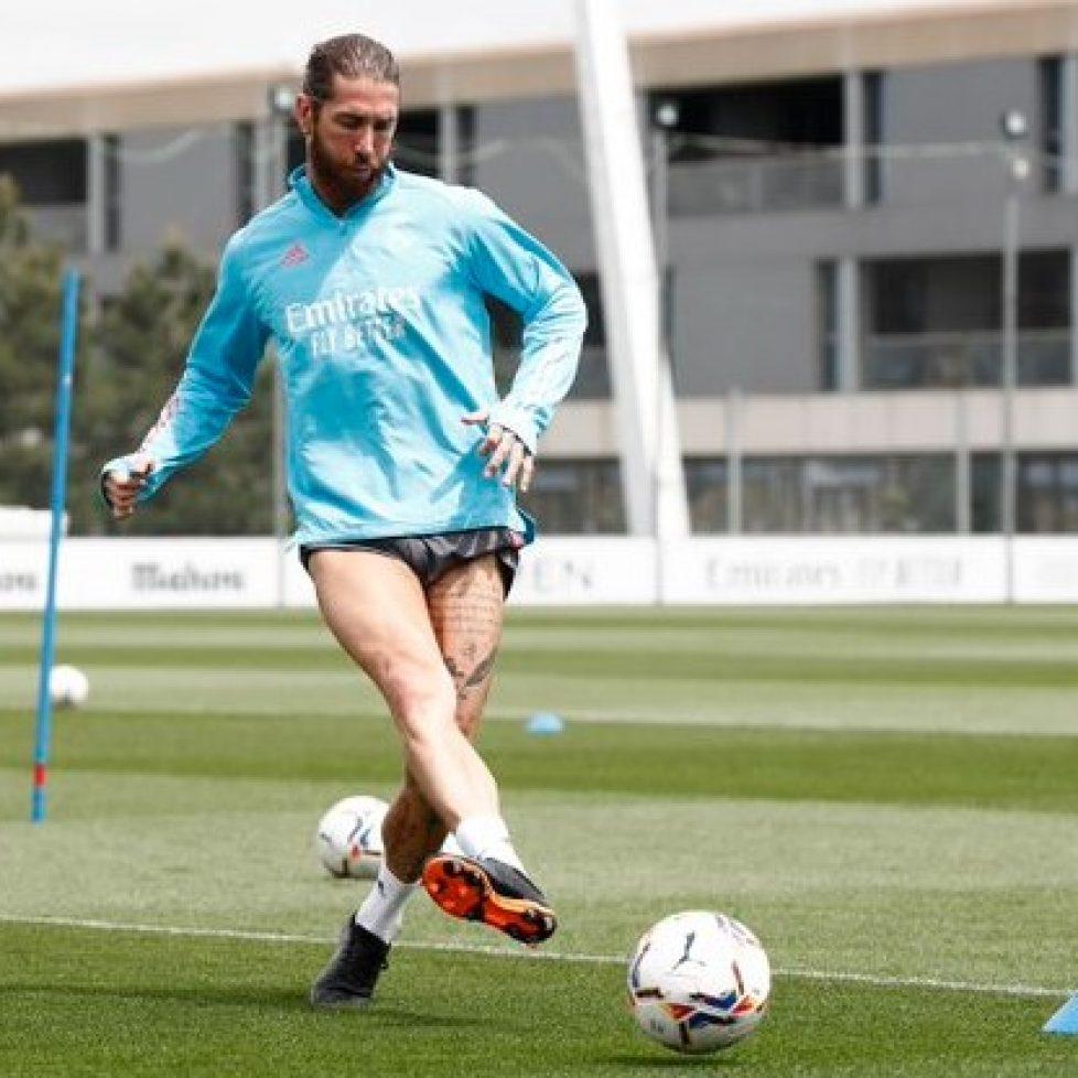 Серхио Рамос поднови отборни тренировки c Реал Мадрид bet365