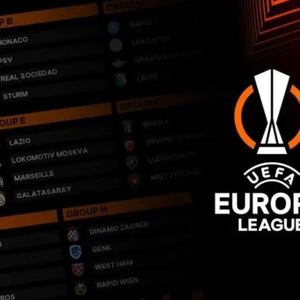 Днес ще се изиграе вторият кръг от груповата фаза на Лига Европа bet365